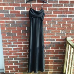 Sz 14 Black formal ball gown from Betsy and Adam
